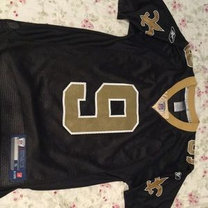 New Orleans Saints Drew Brees Jersey Men's Small